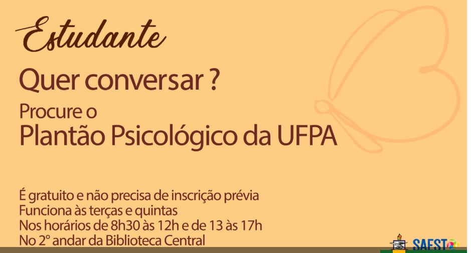 UFPA cria Plantão Psicológico para atender estudantes em vulnerabilidade emocional